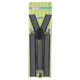 Creations of Grace, Striped Children's Suspenders, Black & White, 29 x 4 x 1 inches