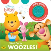 Winnie the Pooh, Watch Out for Woozles, by Phoenix International, Sound Book