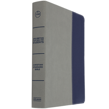 CSB Apologetics Study Bible for Students, Duo-Tone, Gray and Navy