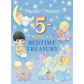 Thomas Nelson, Precious Moments: 5-Minute Bedtime Treasury, by Thomas Nelson, Padded Hardcover