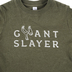 Crazy Cool Threads, Giant Slayer, Kid's Short Sleeve T-Shirt, Olive, 2T