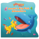 Jonah's Big Fish Adventure, The Beginner's Bible, by Zonderkidz, Board Book
