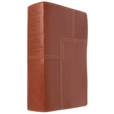 NLT Life Application Study Bible, Duo-Tone, Brown