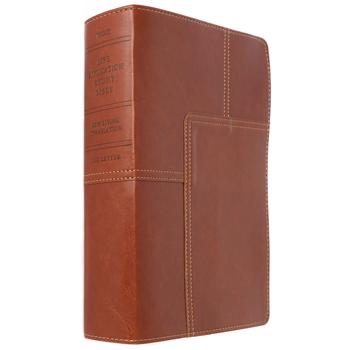 NLT Life Application Study Bible, Duo-Tone, Brown