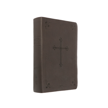 NIV Compact Bible with Cross Emblem, Imitation Leather, Multiple Colors Available