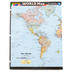 BarCharts Inc, World Map Countries, Quick Study Academic Guide, Laminated, Grades K-Adult