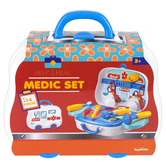 Toysmith, Help & Heal Medic Doctor Play Set, 14 Pieces