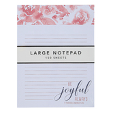 Graphique De France, 1 Thessalonians 5:16 Be Joyful Notepad, 6 x 8 inches, 150 Lined Pages