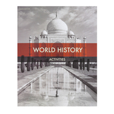 BJU Press, World History Student Activities Manual, 5th Edition, Paperback, Grade 10