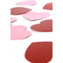 Renewing Minds, Two-Sided Mini Heart Cutouts, 3 Inches, Red and Pink, Pack of 36
