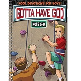 Gotta Have God: Devotions for Boys Ages 6-9, by Diane Cory, Dave Carleson, & RoseKidz, Paperback