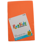 Playside Creations, Assorted Rainbow Foam Sheets, 5.5 x 8.5 x 0.08 Inches, Classroom Pack, 50 Pieces