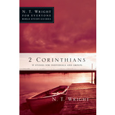 2 Corinthians, N. T. Wright For Everyone Bible Study Series, by N. T. Wright, Paperback