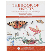 Memoria Press, The Book of Insects Teacher Guide, Paperback, 154 Pages, Grades 4-6