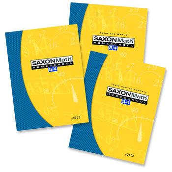 Saxon Math 5/4:  Homeschool Kit