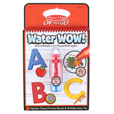 Melissa & Doug, Water Wow! Alphabet Reveal Pad, Ages 3 to 5 Years, 5 Pieces