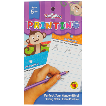 Carson-Dellosa, My Take-Along Tablet: Printing Activity Pad, Paperback, 64 Pages, Grade K-1