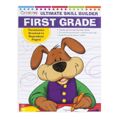 PBS Publishing, Ultimate Skill Builder First Grade Book, Reproducible, 320 Pages, 8 x 11 Inches