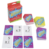 Math Splat Multiplication Game, 2-6 Players, Grades 3 and up