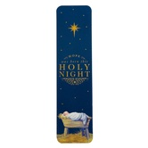 Renewing Faith, John 3:16 Holy Night Bookmarks, Paper, Navy and Gold, 1 1/2 x 5 3/4 inches, Pack of 25