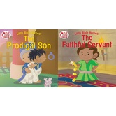 Little Bible Heroes, The Prodigal Son and The Faithful Servant, Flip-Over Book, by Victoria Kovacs