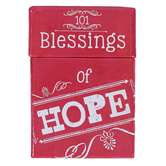 Christian Art Gifts, 101 Blessings of Hope Cards, 51 Double-Sided Cards, 3 3/4 x 2 3/4 inches