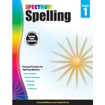 Carson-Dellosa, Spectrum Spelling Workbook Grade 2, Paperback, 208 Pages, Ages 7-8