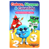 Rock N Learn, Colors, Shapes and Counting Book of Rhymes, Board Book, 32 Pages, Preschool