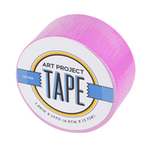 Neon Fuchsia Art Project Tape, 1 7/8 inches x 15 yards, 1 Roll