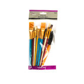 The Fine Touch, Tempera Value Brush Set, 25 piece, Assorted