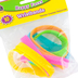 Teacher Created Resources, Happy Faces Silicone Wristbands, 5 Assorted Colors, 7.25 Inches Diameter, 10 Pack