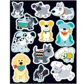 Carson-Dellosa, Hot Diggity Dogs Shape Stickers, 1 x 1 Inch, Multi-Colored, Pack of 72