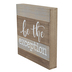 Be the Exception Wall Decor, MDF, Brown, 9 3/8 x 9 3/8 x 1 1/2 inches