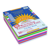 SunWorks, Construction Paper Smart-Stack, 9 x 12 inches, Assorted Colors, 300 Sheets
