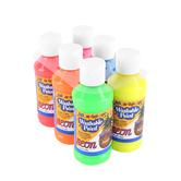 RichArt, Washable Paint Set, 4 ounces, Assorted Neon Colors, 6 count