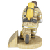 Dicksons, Firefighter's Prayer Sculpture, Resin 5 1/2 x 4 3/8 inches