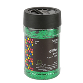 Tree House Studio, Glitter, Green, 1/24, 4 ounces