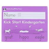 Handwriting Without Tears, Kick Start Kindergarten Student Workbook, Paperback, Grade PreK
