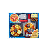 Melissa & Doug, Wooden Flip and Serve Pancake Set, Ages 3 to 8 Years Old, 15 Pieces