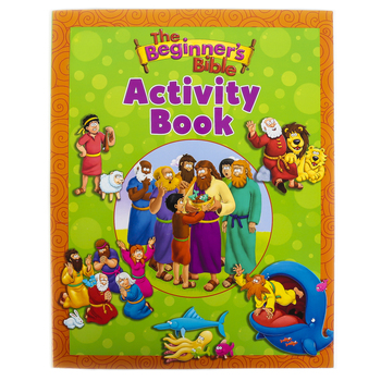 Zonderkidz, The Beginners Bible Activity Book, Paperback, 63 Pages, Ages 4 and up