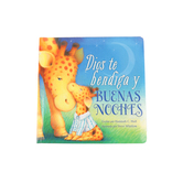 Dios Te Bendiga Y Buenas Noches, by Hannah C. Hall and Steve Whitlow, Board Book