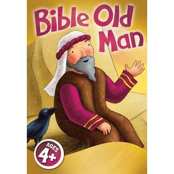 David C. Cook, Bible Old Man Jumbo Card Game, Ages 4 Years and Older, 2 or More Players