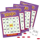 Trend, Multiplication Bingo Game, Ages 8 Years and Older, 3 to 36 Players