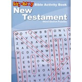 itty-bitty Bible Activity Book, New Testament Word Search Puzzles, by Warner Press, Paperback