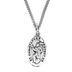 H.J. Sherman, Sterling Silver St. Christopher Medal, Necklace, 18 inches