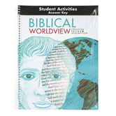 BJU Press, Biblical Worldview Activity Manual Key, ESV Version, Grades 11-12