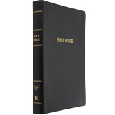 KJV Reference Bible, Giant Print, Bonded Leather, Multiple Colors Available