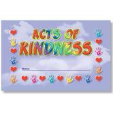 North Star Teacher Resources, Acts of Kindness Punch Cards, Pack of 36