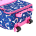 Stephen Joseph, Rainbow Pattern Rolling Luggage, 18 x 12 1/2 x 6 1/2 inches