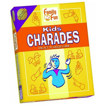 Outset Media, Kids Charades, Ages 8 and Older, 2 to 6 Players
